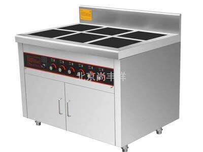 电磁带柜六头煲仔炉