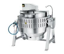 STWJBG-200R燃气自动搅拌熬煮锅 自动搅拌熬煮锅 中央厨房熬煮