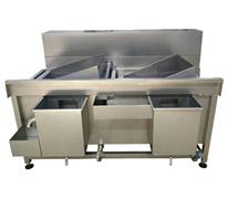 STW-275两槽翻转洗菜机